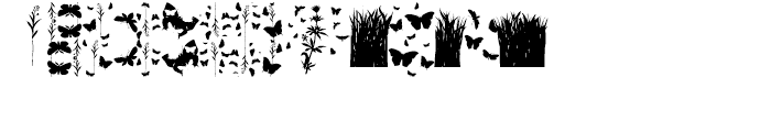 Butterfly Effect Regular Font LOWERCASE