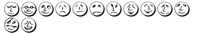 ButtonFaces Demi Font UPPERCASE