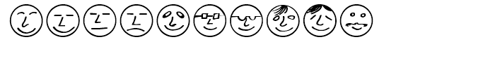 ButtonFaces Regular Font OTHER CHARS