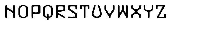 Buzzer Three Font UPPERCASE