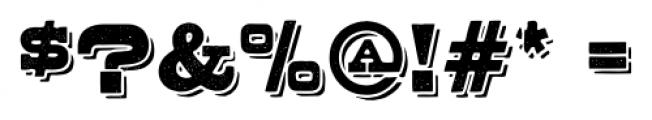 Buckboard Alternate Pro Regular Font OTHER CHARS