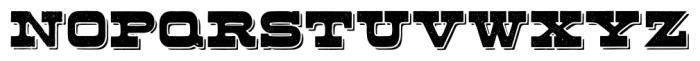 Buckboard Alternate Pro Regular Font UPPERCASE