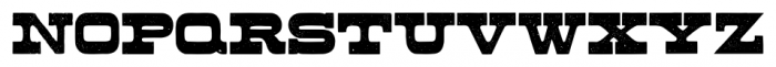 Buckboard Pro Regular Font UPPERCASE