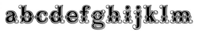 Buffalo Bill Regular Font LOWERCASE