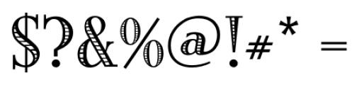 Building  Loan Regular Font OTHER CHARS