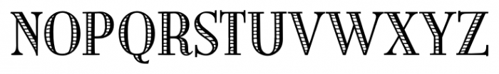 Building  Loan Regular Font UPPERCASE