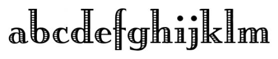 Building  Loan Regular Font LOWERCASE