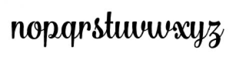 Bulgary Rough Font LOWERCASE