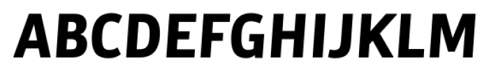 Bulo Bold Italic Font UPPERCASE