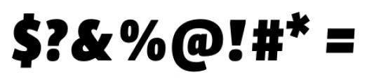 Bulo Extra Black Italic Font OTHER CHARS