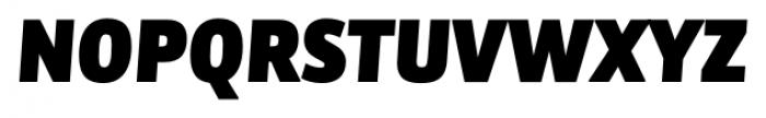 Bulo Extra Black Italic Font UPPERCASE