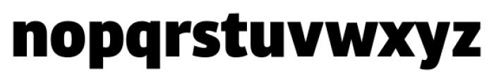 Bulo Extra Black Font LOWERCASE