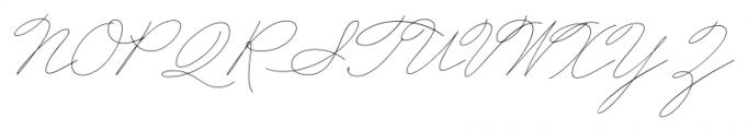 Business Penmanship Regular Font UPPERCASE