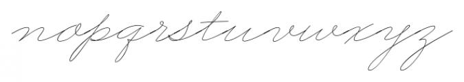 Business Penmanship Regular Font LOWERCASE