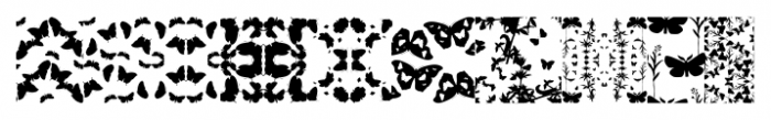 Butterfly Effect Medium Font OTHER CHARS