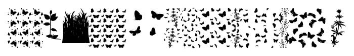 Butterfly Effect Medium Font LOWERCASE