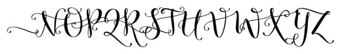 Butterfly Waltz Alt Left Font UPPERCASE