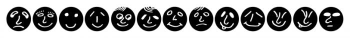 ButtonFaces Bold Font UPPERCASE