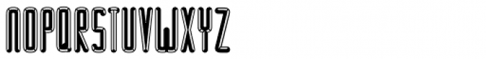 BUNK Empat Font UPPERCASE