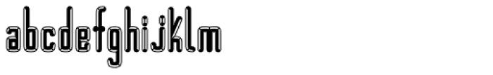 BUNK Empat Font LOWERCASE