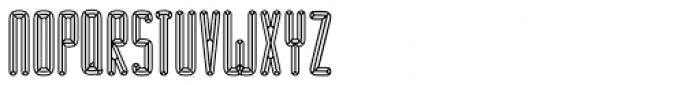 BUNK Satu Font UPPERCASE