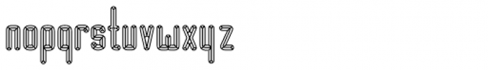 BUNK Satu Font LOWERCASE
