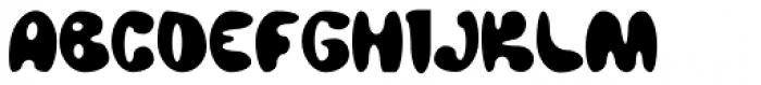 Bubbaloon Font UPPERCASE