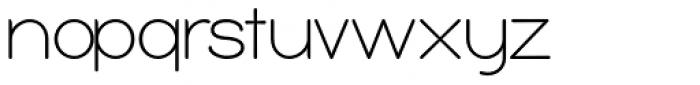 Bubbleboddy Light Font LOWERCASE