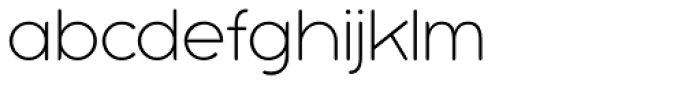 Bubbleboddy Neue Thin Font LOWERCASE