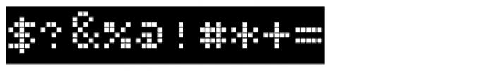 Bubbledot ICG Coarse Neg Font OTHER CHARS