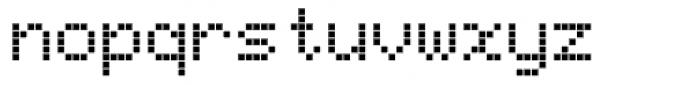 Bubbledot ICG Fine Pos Font LOWERCASE