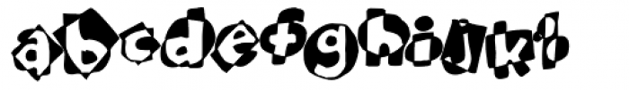 Bubbles Regular Font LOWERCASE