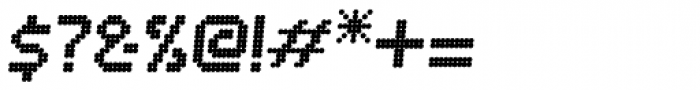 Bubblewrap Bold Italic Font OTHER CHARS