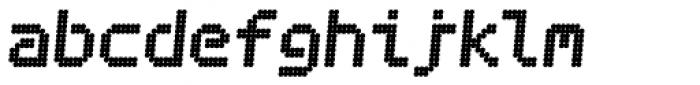 Bubblewrap Bold Italic Font LOWERCASE