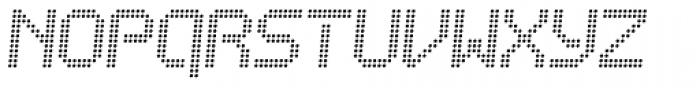 Bubblewrap Light Italic Font UPPERCASE