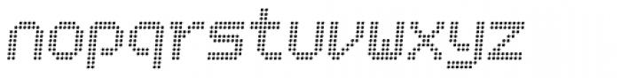 Bubblewrap Light Italic Font LOWERCASE