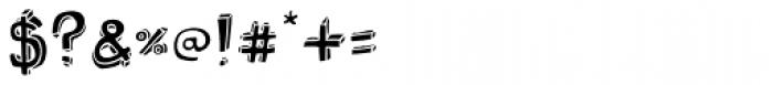 Bubol Fill1 Font OTHER CHARS