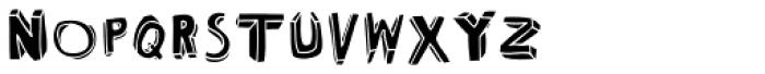 Bubol Fill1 Font UPPERCASE