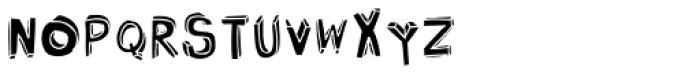 Bubol Fill1 Font LOWERCASE