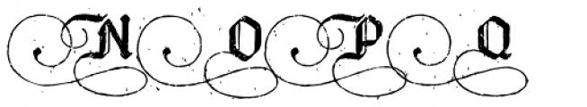 Bucanera Antiqued Special Caps Font UPPERCASE