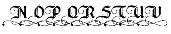Bucanera Antiqued Special Caps Font LOWERCASE