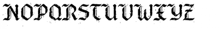 Bucanera Antiqued Font UPPERCASE