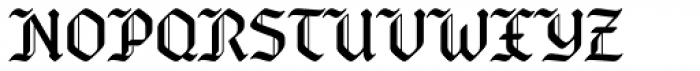 Bucanera Soft OT Font UPPERCASE