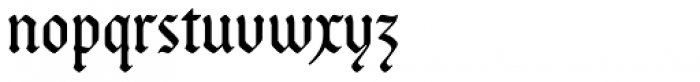 Bucanera Soft OT Font LOWERCASE