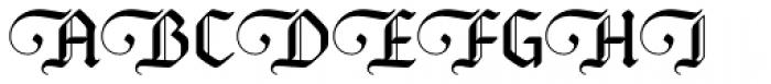 Bucanera Soft Swash Font UPPERCASE