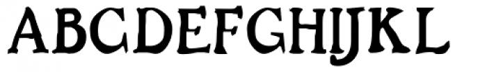 Buccaneer Bold Font UPPERCASE