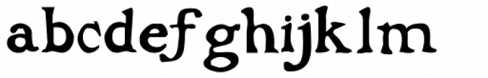 Buccaneer Bold Font LOWERCASE