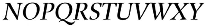 Buccardi Std Italic Font UPPERCASE