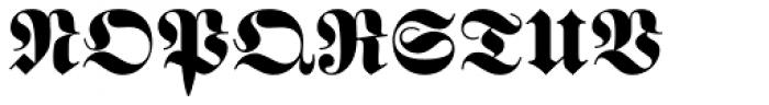 Buchfraktur Fett Font UPPERCASE