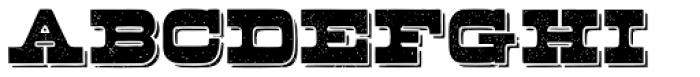 Buckboard Alternate Pro Font UPPERCASE